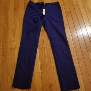 Trina Turk Cropped Blue Slacks